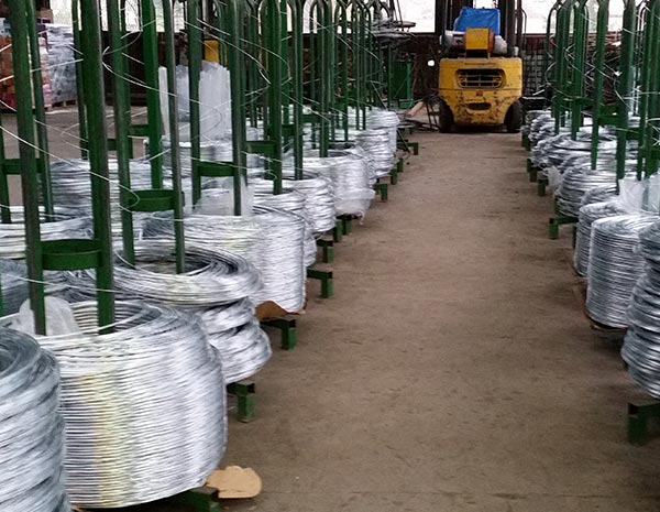 Q195/235 High Tension Hot Dipped Galvanized Steel Wire For Fencing