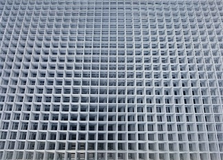 Electric  galvanized welded wire mesh panels to Israel