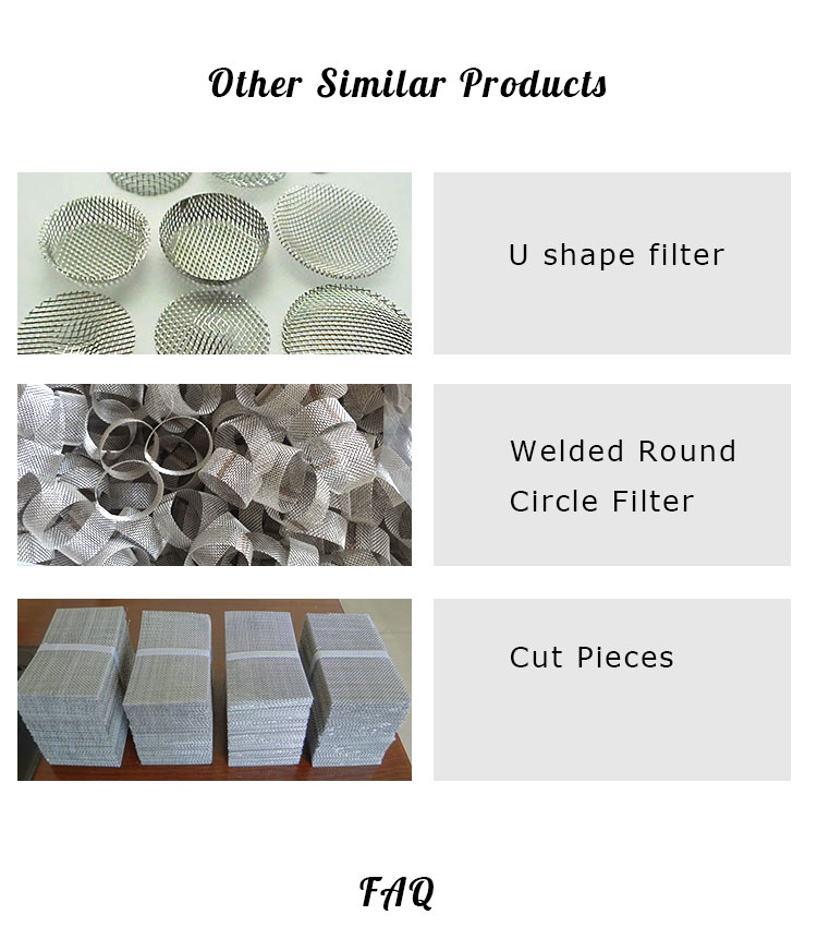 Filtering Hot Dipped Galvanized or Electro Galvanized Iron Wire Mesh /60mesh-2mesh