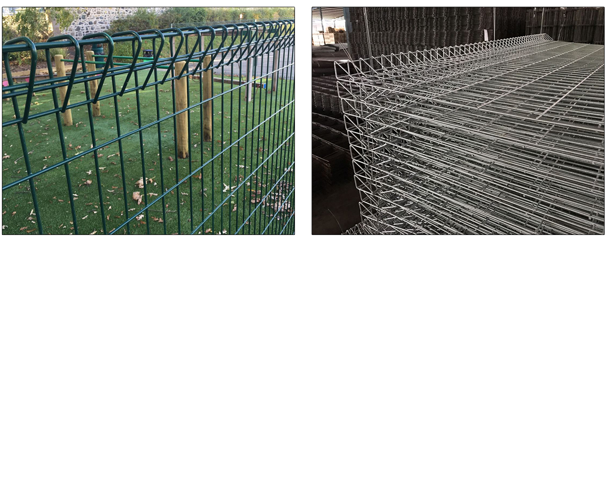 Hot Dipped Galvanized brc bending top fence heavy gauge rigid welded ...