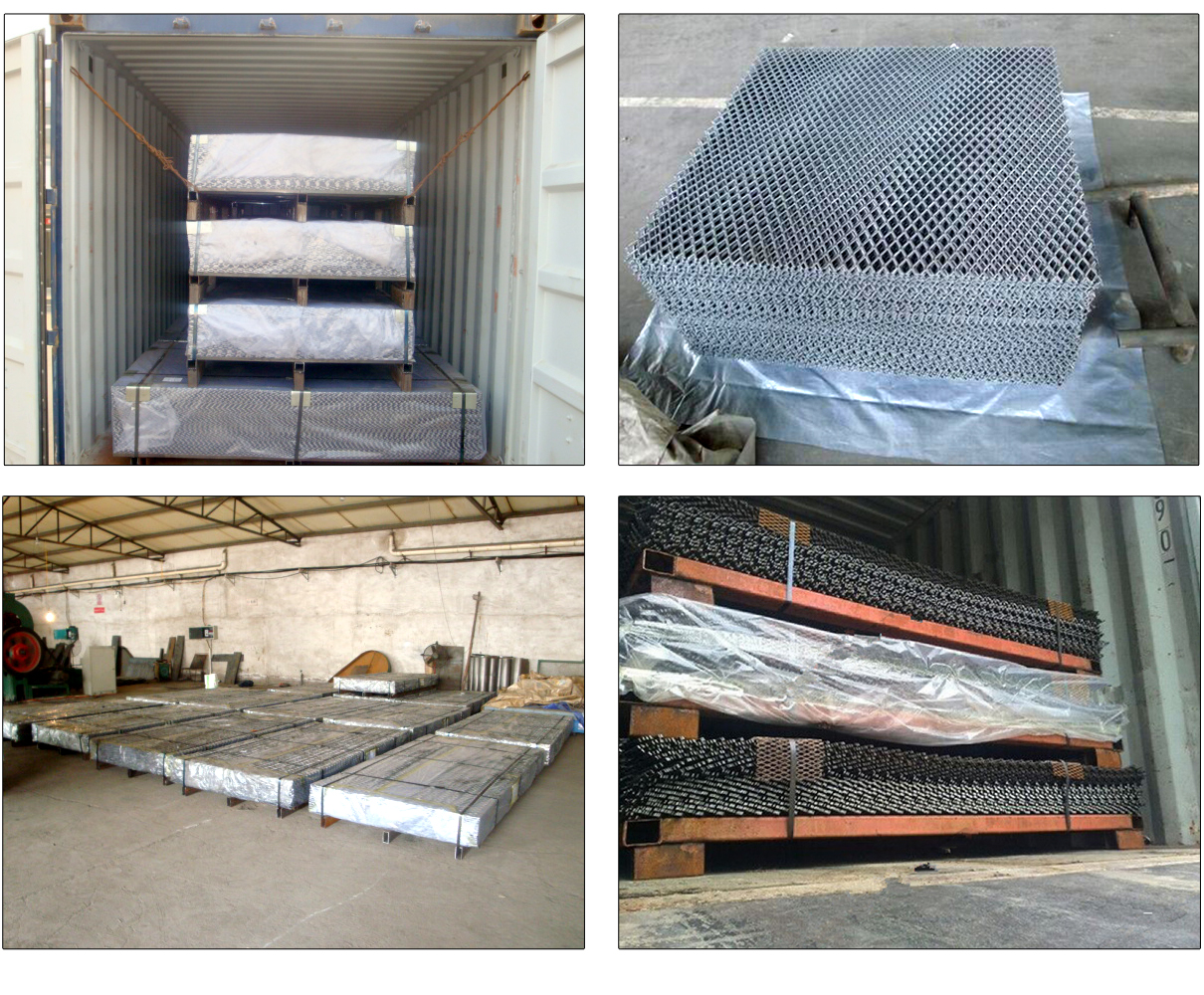 3mm Thichkness 40mmx10mm Aluminum Expanded Metal Mesh