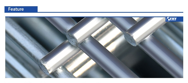 What are the characteristics of the welded wire mesh products produced by yhy company?