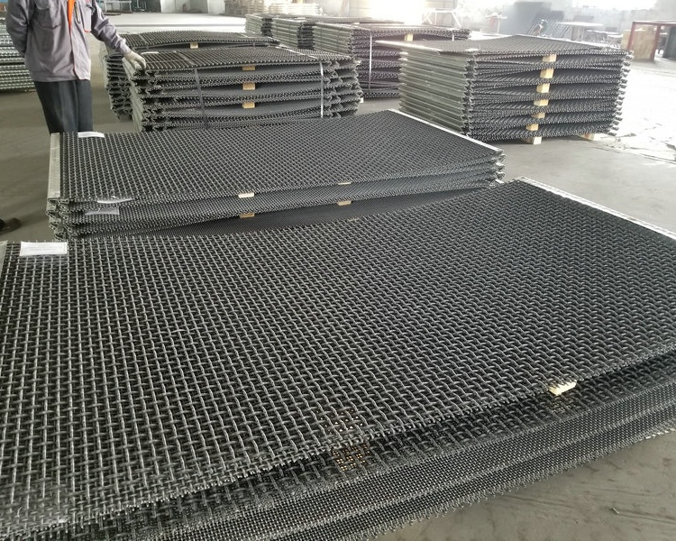 Woven Crimped Mesh Export to Chile