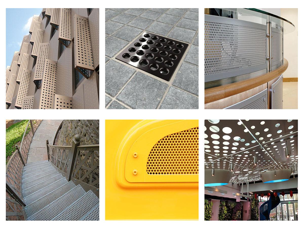 2400*1220 Round Hole Aluminum Perforated Sheet