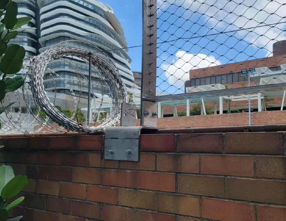 Stainless steel rope wire mesh project of Hong Kong Polytechnic University(PolyU)