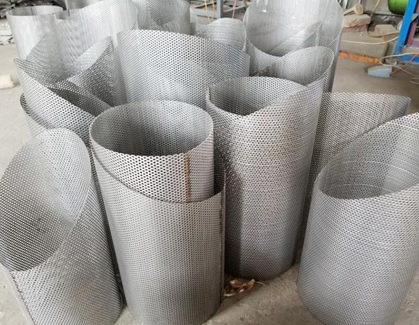 0.3mm - 15mm thickness Customized Stable Punched  Aluminum Perforated Metal  Mesh