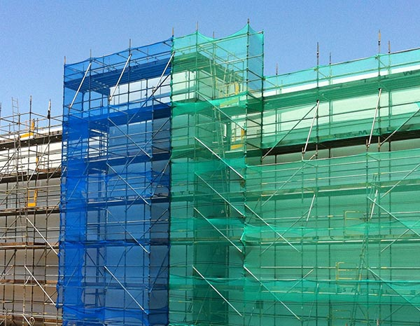 HDPE scaffold green building protection safety net