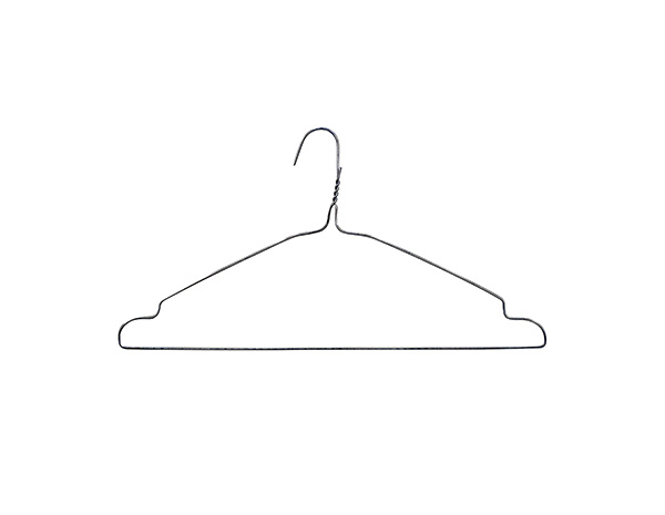 Padded/shoe rack/60 pack/silver metal clothes hangers stainless steel