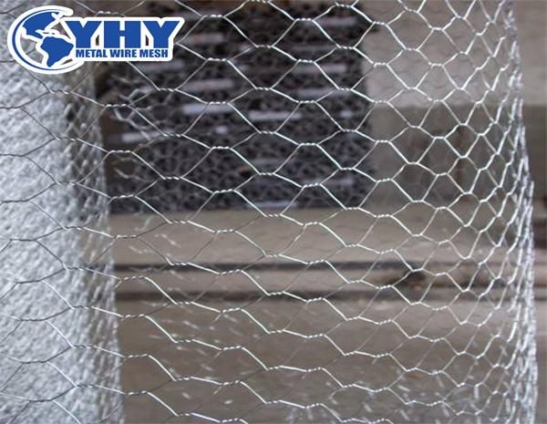 Heavy galvanized   river bank protect gabion box