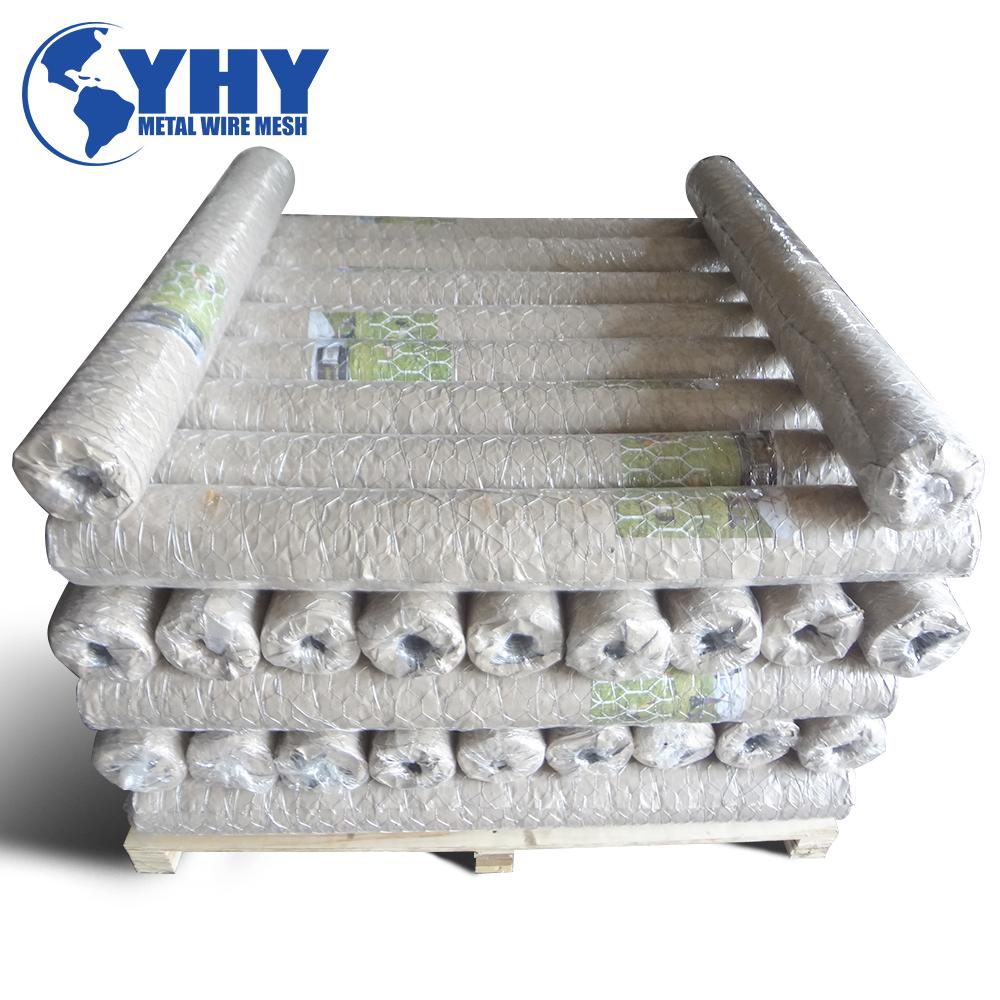 Heavy galvanized   river bank protect gabion box