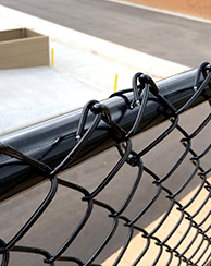 The Catalogue  Of Black PVC Coated Cyclone  Chain Link Fence  Panels