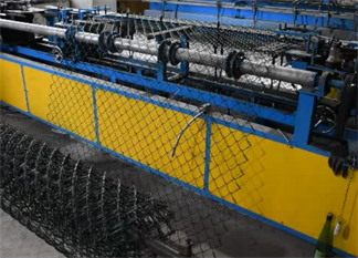 The Steps Introduction To Produce The Chain Link Wire Mesh