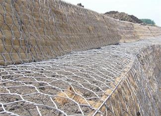 Triple Twist  Weaving Gabion Baskets
