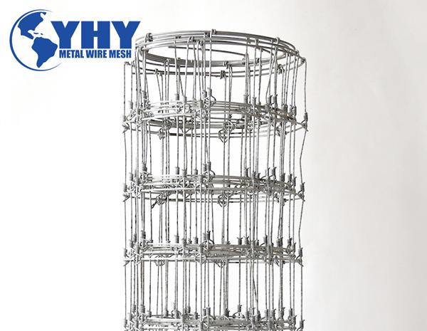 6 feet high veritical wire distance 300mm hot dipped galvanized deer fence