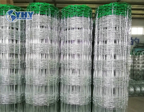 2.0m Height Galvanized 15cm Vertical Wire Distance 100m Long Green color PVC hinge  joint fence