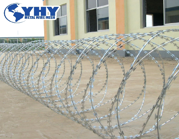Military Area High Security Protection Razor Wire Barbed Wire Razor Wire Razor Wire