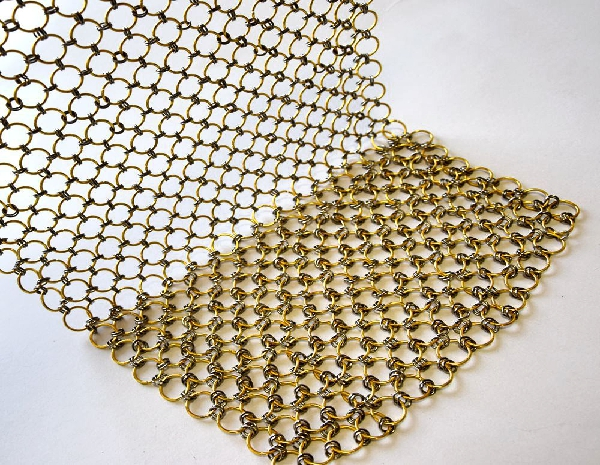 Chainmail Curtain Decorative Ring Metal Mesh Curtains