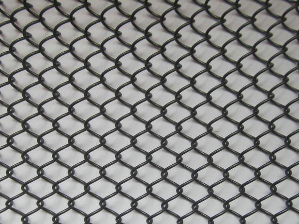 150mm Wire Diameter Galvanized Wire Metal Mesh Curtain 10m Height  Decoration Mesh