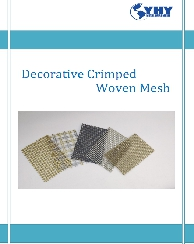 The Catalog of Decorative Crimped Woven Mesh