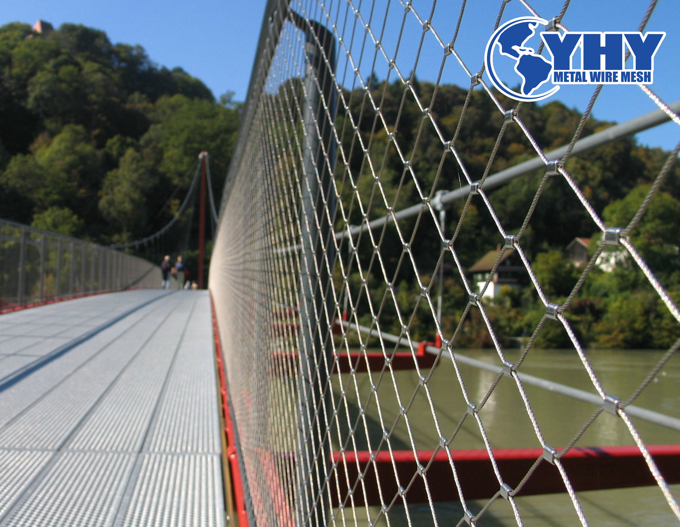 Anti-Fall Object Stainless Steel Rope Wire Mesh