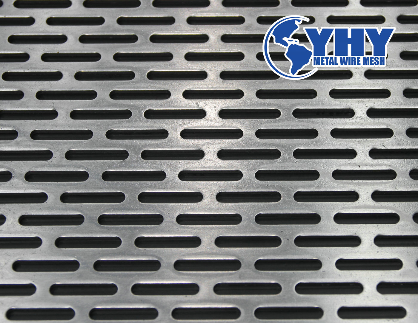 Special hole shape perforated mesh panel for exterior wall decoration