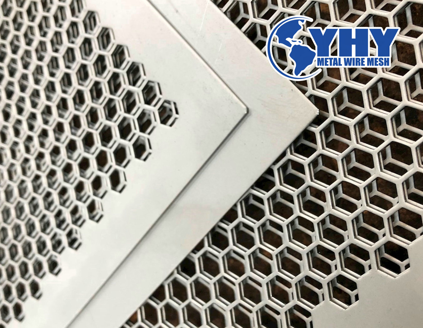 Architectural ornament Punching Mesh Panels for Exterior Wall