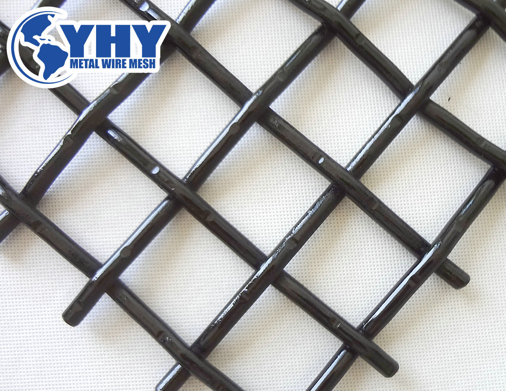 customized crimped screen mesh for stone