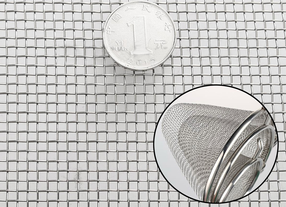 Different uses of stainless steel wire mesh