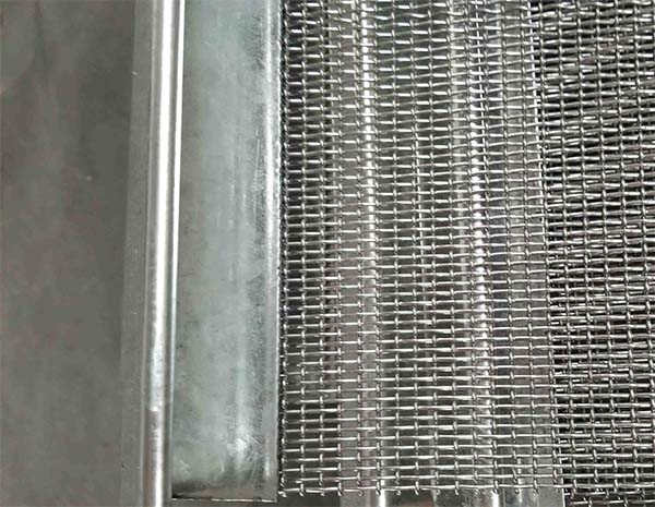 Lng using life ss304 crimped wire mesh factory outlet