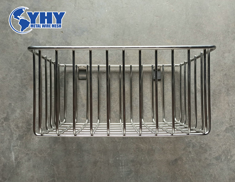 customized ss 304 welded vintage wire basket