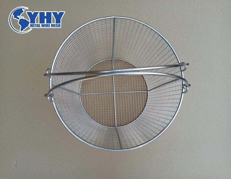 ss 304 steel mesh tote baskets