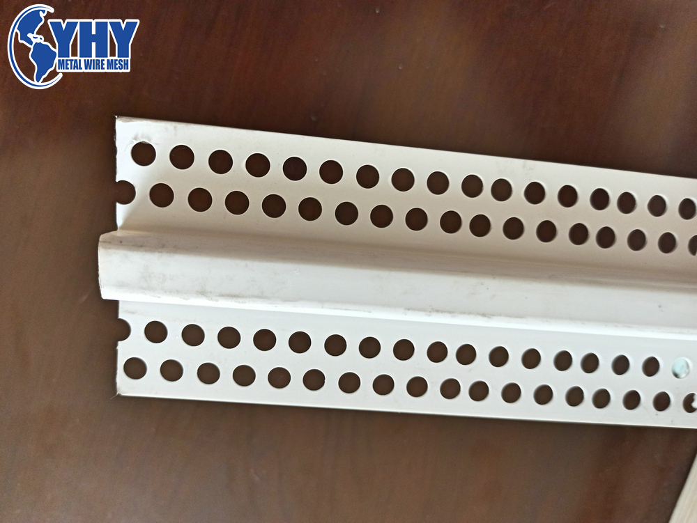 Good quality white color length 2.5m width 20mm U shape PVC Corner Bead Plastic profile factory Outlet