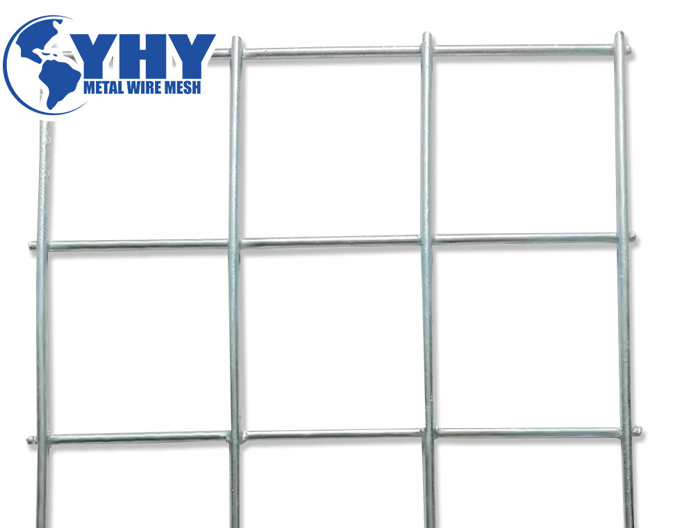 100x100mm hot dipped galvanied undergroung supporting welded mesh